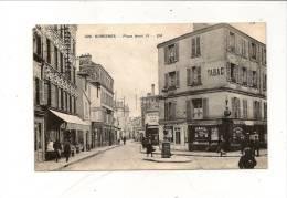 92  Suresnes Place Henri IV Animée Belle Carte Mais Vendue En L'état 2 Scan - Suresnes