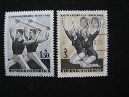 Österreich  1190 - 1191   O   1190 Ersttagsstempel - 1945-.... 2nd Republic