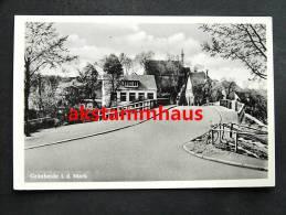 GRÜNHEIDE Mark Woltersdorf - Straßenpartie M. Brücke - Gruenheide