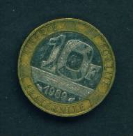 FRANCE - 1989 10f Circ. As Scan - K. 10 Francs