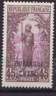 Oubangui - 1922 - YT N° 36 *   (sp) - Unused Stamps