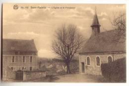 E1448 - Saint-Hadelin - L' Eglise Et Le Presbytère - Olne