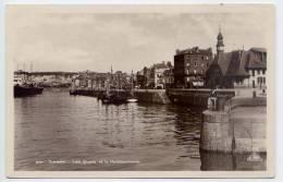 DIEPPE--1935--Les Quais De La Poissonnerie (petite Animation,bateaux)- Cpsm  9 X 14   N° 237   éd  CAP - Dieppe