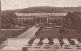 DR 338 MeF Auf AK: Koblenz, Schloss, Stempel: Koblenz 31.1.1924 - Deutschland