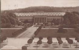 DR 338 MeF Auf AK: Koblenz, Schloss, Stempel: Koblenz 31.1.1924 - Covers & Documents