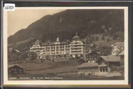 WENGEN - HOTEL NATIONAL PALACE  - TB - BE Berne