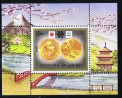 1972 Jeux Olympiques De Sapporo  Médaille D'or Michel Bloc 113A * - Fujeira