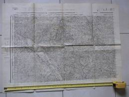 "DEPT. 33 - LA REOLE, CADILLAC, BEAURECH, ETC...ETC...TAMPON EN RELIEF "" MOLLAT 15  RUE VITAL-CARLES BORDEAUX EN PHOTOS . - Mapas Topográficas"