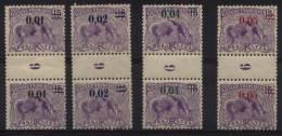 "Du N° 91 Au N° 94 Millésimé "" 9 "" ( 1919 ) - X X - ( C 386 ) - Unused Stamps"