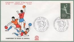 VIIé CHAMPIONNAT DU MONDE HANDBALL   PJ 21/2/1970 PARIS - Hand-Ball