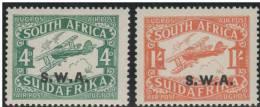 AFRICA DEL SUR 1930 - Yvert #A1/2 (Aéreos) - MNH ** - Aéreo