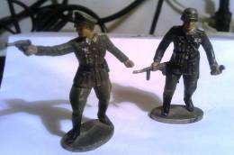 Soldatini, Tedeschi, Militaria. Soldati. Militari. Modellismo. Guerra. Giocattoli. Germania. Seconda Guerra. - Andere