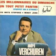 """André Verchuren  """"  Les Millionnaires Du Dimanche  """" - Zonder Classificatie"""