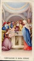 Santino PURIFICAZIONE DI MARIA VERGINE - PERFETTO E86 - Religione & Esoterismo