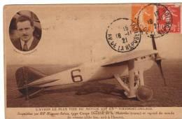 L´avion Le Plus Vite Du Monde Est Nieuport- Delage 300 HP Hispano-Suiza Record Du Monde De Vitesse Sadi- Lecointe - 1919-1938: Entre Guerres