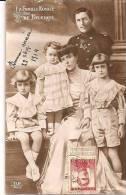 FAMILLE ROYALE DE BELGIQUE   REF 31921 - Familles Royales