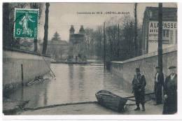 94- CRETEIL St MAUR- Inondation De 1910 - Creteil