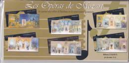 """Bloc Feuillet """"les Operas De Mozart """"bloc Souvenir  N°7 à 12 Année 2006 Neuf ** Sous Blister - Souvenir Blocks & Sheetlets"""