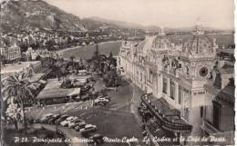 1957 MONTE-CARLO - LE CASINO ET LE CAFE DE PARIS - Monaco