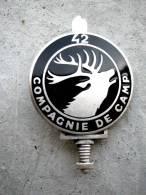 ANCIEN INSIGNE DE LA 42° CC COMPAGNIE DE CAMP MÜNSINGEN (ALLEMAGNE)  DRAGO PARIS - Fuerzas Aéreas