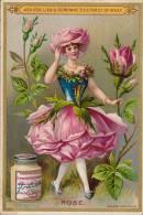 Chromo Liebig Fleur Rose - Liebig