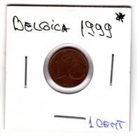 Moneda  1 Centimos  Belgica   Año 2002, Circulada - Bélgica