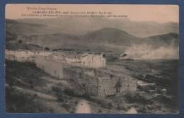 MILITARES - CP CAMPAÑA DEL RIF 1921 - OCUPACION DE BENI BU IFRUR - LOS TALLERES Y OFICINAS DE LAS MINAS SETOLAZAN ... - Otras Guerras