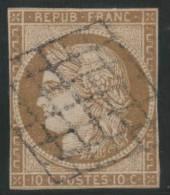 FRANCIA 1850 - Yvert #1 - VFU - 1849-1850 Ceres