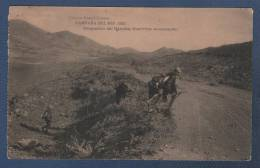 MILITARES - CP CAMPAÑA DEL RIF 1921 - OCUPACION DEL HARCHA - GUERRILLA AVANZANDO - Otras Guerras