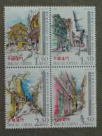 2006 MACAO - STREET SCENES 4V - 1999-... Chinese Admnistrative Region