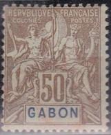 Gabon   N° 28* Neuf Avec Charniere