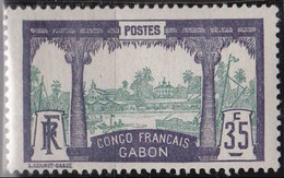 Gabon   N° 41* Neuf Avec Charniere