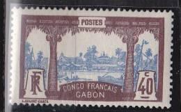 Gabon   N° 42*neuf Avec Charniere