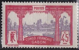Gabon   N° 43*neuf Avec Charniere