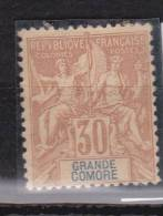 Grande Comore   N° 9* Neuf Avec Charniere - Grote Komoren (1897-1912)