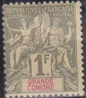 Grande Comore   N° 13* Neuf Avec Charniere - Grote Komoren (1897-1912)