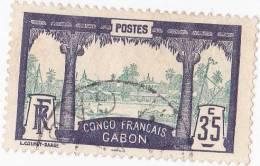 Gabon   N° 41  Oblitéré