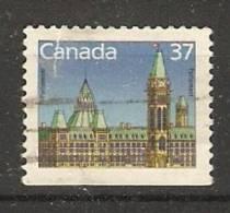 Canada  1985-90 Definitives; Parliament  (o) - Einzelmarken