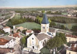 ¤¤  -   3  -   SAINT-PAUL-de-VARAX   -   L'Eglise  -  Vue Aérienne  -  ¤¤ - France