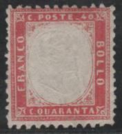 ITALIA 1862 - Yvert #4 - MLH * - Nuevos