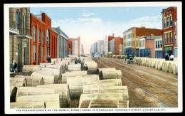 CPA. THE TOBACCO CENTER OF THE WOLD, STREET SCENE IN WHOLESALE TOBACCO DISTRICT, LOUISVILLE, KY. - Louisville