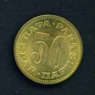 YUGOSLAVIA - 1965 50p Circ. As Scan - Yugoslavia