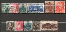AFRIQUE DU SUD  Serie Courante 1941-43 N°118-119-120-121-122-123-124-126-131-133 - Nieuwe Republiek (1886-1887)
