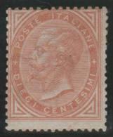 ITALIA 1863/77 - Yvert #15 - MLH * (Very Rare!) - Nuevos
