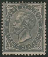 ITALIA 1863/77 - Yvert #17 - MLH * (Rare!) - Nuevos