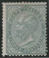 ITALIA 1863/77 - Yvert #17 - MLH * (Very Rare!) - Nuevos