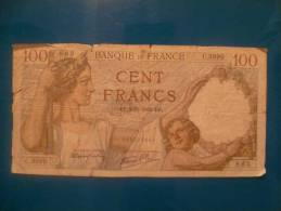 100 Fr Sully  Du 2/11/39 - 1871-1952 Circulated During XXth