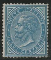 ITALIA 1863/77 - Yvert #16 - MLH * (Very Rare!) - 1861-78 Victor Emmanuel II