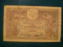 100 Fr Merson Du 20/10/38 - 1871-1952 Antichi Franchi Circolanti Nel XX Secolo