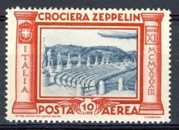 Regno 1933, Posta Aerea, Serie 1508, N. 47 MNH, Firmato Brunn Cat. € 70 - 1900-44 Victor Emmanuel III.